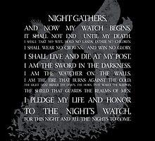 Join the Night's watch by Amygurumi