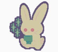 Bit Bunny (sticker) by floatinghead