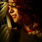 Rusana at the window III by ARTistCyberello