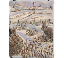 """Snow patrol"" iPad Case/Skin"