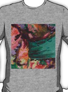Acrylic Magenta and Teal T-Shirt