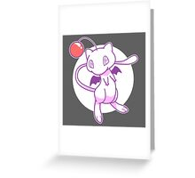 Mewgle Greeting Card