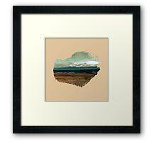 Eroded Composition | Five Framed Print