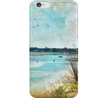 Turquoise Serenity iPhone Case/Skin