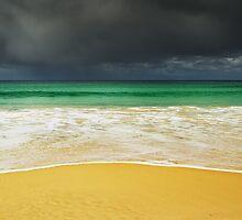 Sand and Storm, Bruny Island, Tasmania by NickMonk