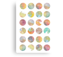 Colored World Canvas Print