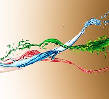 creative paint splash digital photography by SFDesignstudio