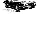 1972 Ford Mustang Convertible by garts