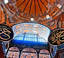 Hagia Sophia, Istanbul: Ceiling by toby snelgrove  IPA