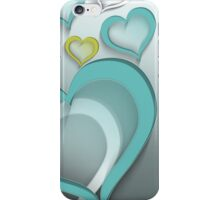 Modern Art Smart and Stylish Heart Design iPhone Case/Skin