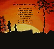 I love a sunburnt country by Phoenix-Appeal