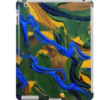 Aerial Landscape, Abstract Contemporary Art  iPad Case/Skin