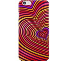 Modern Art Smart and Stylish Hearts Shimmering iPhone Case/Skin