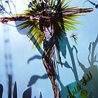 The Rose of Sharon and the Bright and Morning Star Jesus by RealPainter