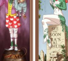 Haunted Arkham Asylum Sticker