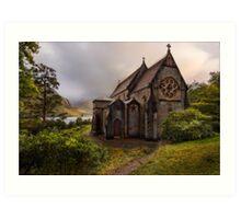 The Church of St. Mary and St. Finnan, Glenfinnan Art Print