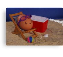 Easter Vacation Canvas Print