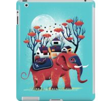 A Colorful Ride iPad Case/Skin