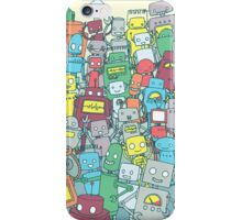 Robot Party iPhone Case/Skin