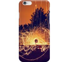 Fire painting iPhone Case/Skin