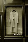 A Bride's Mothers dress in St. Paul Paris window by ragman
