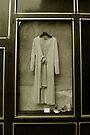 A Bride's Mothers dress in St. Paul Paris window by ragman