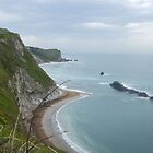 by Durdle door  by sianteri