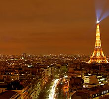 Paris at Night by David Watts