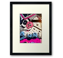 Mural by pinstripepants  Framed Print