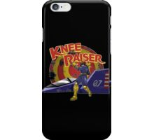 Here comes Knee Raiser iPhone Case/Skin