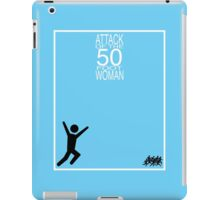 Attack of the 50 Foot Woman iPad Case/Skin