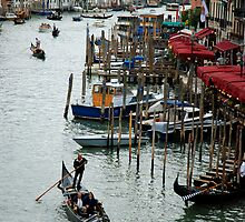Gondoliers of Venice by Renee Hubbard Fine Art Photography