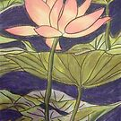 Lily/Lotus - in Pastel by Alexandra Felgate