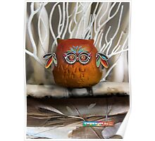 CHUNKIE Owl Poster