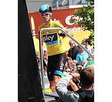 Chris Froome (1), Tour de France 2013  Photographic Print