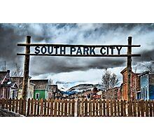 South Park City Photographic Print
