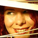 Rusana at the window V by ARTistCyberello