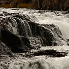 Farehole River Waterfall by Olga Zvereva