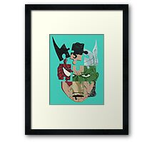 Almighty Framed Print