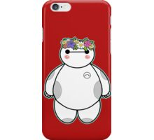 Baymax and his flower crown iPhone Case/Skin