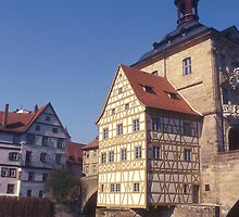 Altes Rathaus (Old Town Hall) Bamberg. Germany. by Peter Stephenson