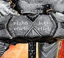 Medieval knight - Computing Made Simple by luckypixel
