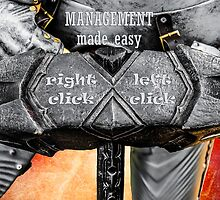 Medieval knight - Management Made Easy by luckypixel