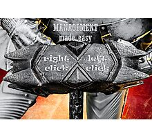 Medieval knight - Management Made Easy Photographic Print