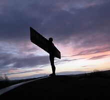 Angel Of The North by Mike Paget
