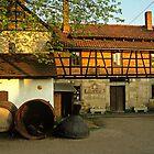 Schmitt brewery in Thüringen, Germany, 1991 by David A. L. Davies