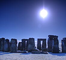 Blue Stone Henge by Peter Sweeney