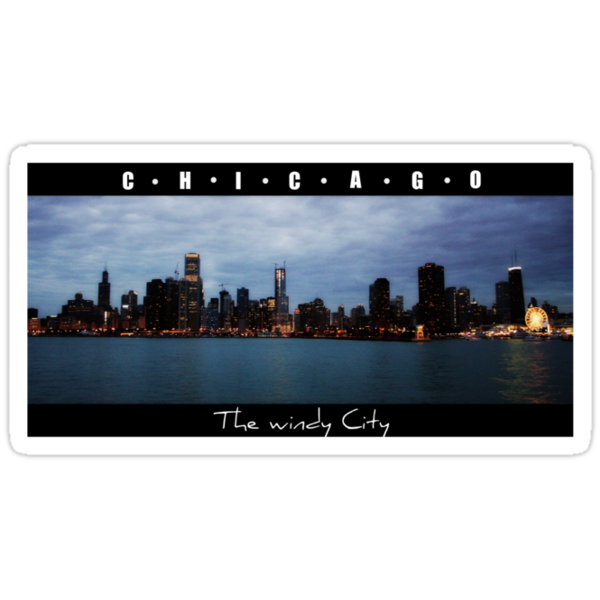 Chicago Tshirt Colour by Ghelly