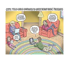 Kids and their gadgets by MacKaycartoons