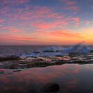 Sunrise at Avoca Beach by Mike Salway